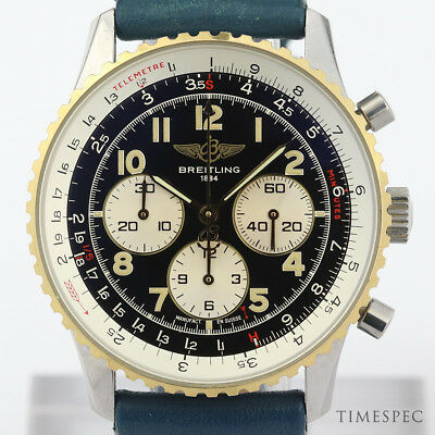 £3250 • Buy Breitling Navitimer Steel & Gold Automatic Chronograph (D30022)