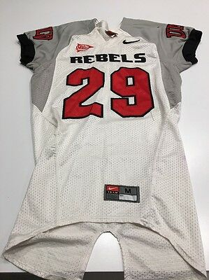 Game Worn Used Nike UNLV Runnin  Rebels Football Jersey Size M  29 • 84.99 0a46afa8c