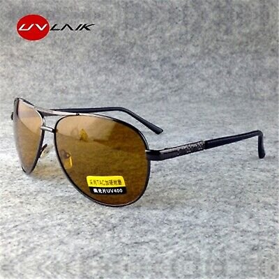 AU11.09 • Buy  Polarized Sunglasses Men Women Night Vision Driving Glasses Driver Goggles
