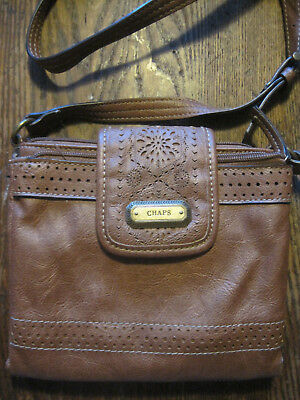 c8a70c0a50 Ralph~Lauren~Chaps~BROWN PURSE W SHOULDER STRAP • 6.99