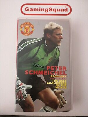 Peter Schmeichel The Best Goalkeeper VHS Video Retro, Supplied By Gaming Squad  • 7.50£