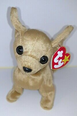 3ef14d10ad4 TY Beanie Baby TINY The Chihuahua Retired Rare Find • 90.00