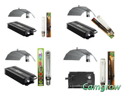 SunMaster Light Kits - 250W To 1000W Ballast, Bulb & Dutch Reflector Hydroponics • 79.99£