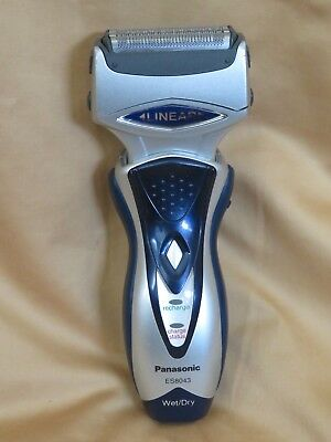 View Details Panasonic ES8043 Linear Wet Dry Cordless Shaver Electric Razor (No Charger) • 56.41£