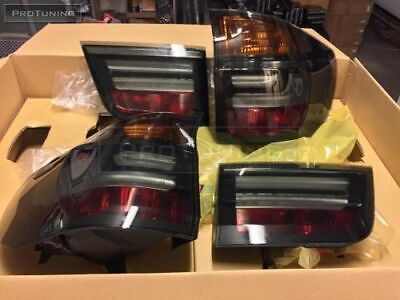 $389.99 • Buy Smoked Tail Lights For Bmw X5 E70 Led