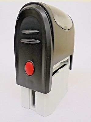 Personalised Name And Address Self Inking Rubber Stamp Garage Service Mechanic • 6.99£