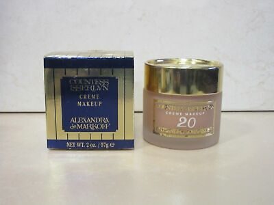 Alexandra De Markoff Countess Isserlyn Creme Makeup # 20 2 Oz Boxed • 44.20$
