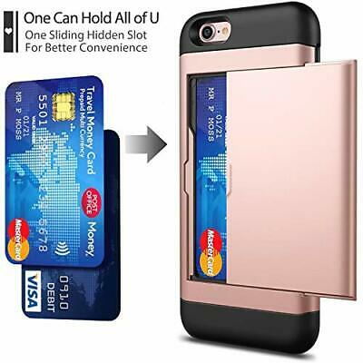 AU32.75 • Buy IPhone 78 Case With Card Holder And[ Screen Protector Tempered Glass X2Pack] SU