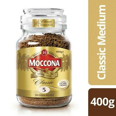 View Details Moccona Classic Medium Roast Instant Coffee 400g • 14.00AU