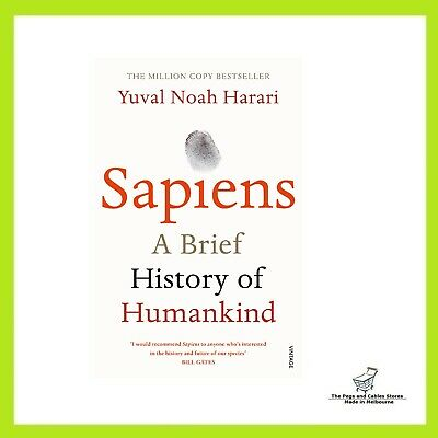 AU25 • Buy Sapiens: A Brief History Of Humankind - Paperback