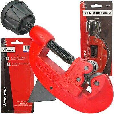 Pipe Cutter For Cutting Plumbing Pipe/ Copper Aluminium Plastic Pvc 3-30mm • 6.99£