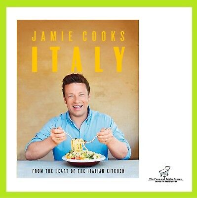 AU29 • Buy Jamie Cooks Italy By Jamie Oliver Hardcover Book