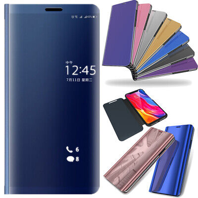 Clear View Mirror Leather Slim Flip Stand Case Cover For Xiaomi Redmi 5 Plus /4X • 5.23£
