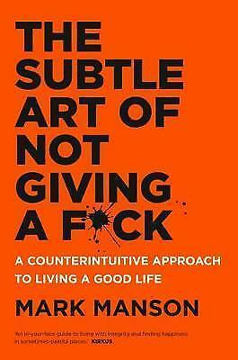 AU25.30 • Buy The Subtle Art Of Not Giving A F*ck By Mark Manson Paperback Free Shipping - NEW