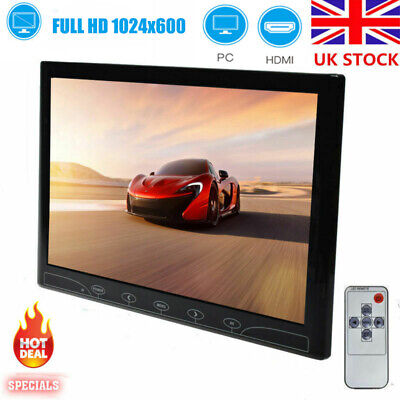 £79.99 • Buy TOGUARD 10.1  TFT Touch Buttons Screen CCTV Monitor AV/VGA/HDMI Inputs Security