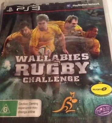 AU5.90 • Buy Wallabies Rugby Challenge, PS3