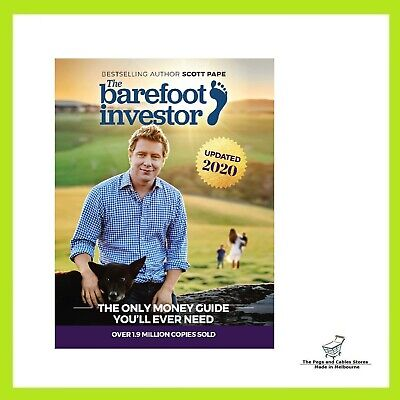 AU24.70 • Buy The Barefoot Investor 2020 Update: The Only Money Guide You'll Ever Need