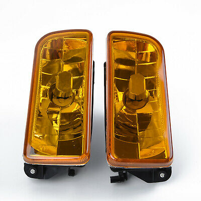 $29.99 • Buy Fit For 1992-1998 BMW E36 M3 Chrome Fog Lights Lamps Yellow Lens Accessory