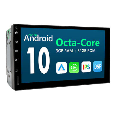AU338.99 • Buy Eonon 7  Android 10 Double 2Din Car Radio Stereo Head Unit GPS NAV DAB+ BT OBD2