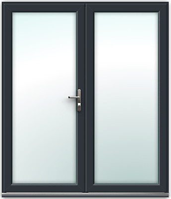 £779.10 • Buy Grey French Door 1790mm X 2090mm - SAME DAY DISPATCH - In Stock