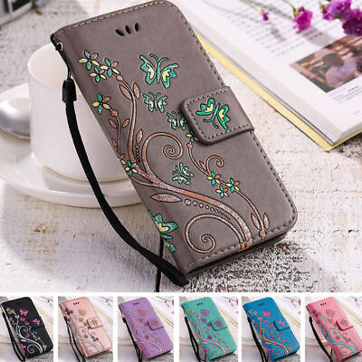 $ CDN6.58 • Buy Butterfly Leather Wallet Case Women's Flip Cover For Samsung S8 S9+ S3 S4 S5 S7
