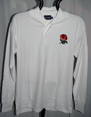 English Classic Combed Cotton Retro England Rugby Shirt • 14.99£