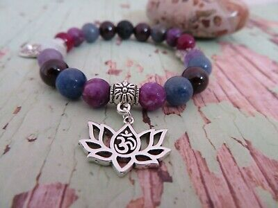 AU46 • Buy Lava Bead Essential Oil Diffuser. Reiki Infused Bracelet
