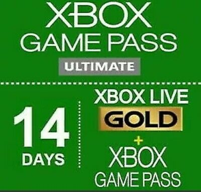 $3.25 • Buy Xbox Game Pass Ultimate 14 Days - Xbox Live Gold + Game Pass (Region Free)