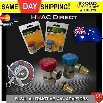 AU49.95 • Buy Automotive A/C Service Tools -Set Of R134a Quick Connect Couplers With Adaptors