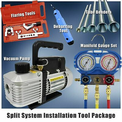AU389 • Buy Split System Airconditioner Installation Tool Package -Refrigeration HVAC Combo