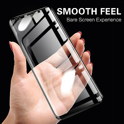 $ CDN5.05 • Buy For Samsung Galaxy S10 Plus S9 Note 9 S7 Tempered Glass Full Screen Protect Film