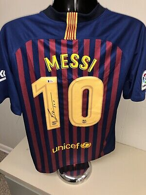 585db8232 signed messi jersey