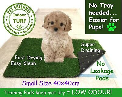 £7.49 • Buy EASY LOO Indoor Dog Grass Toilet Puppy Potty Mat + Training Pads + Poop Bags