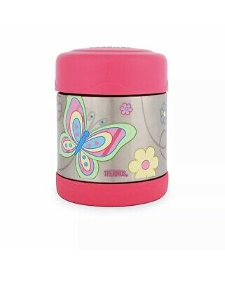AU22 • Buy NEW Thermos Funtainer Stainless Steel Vacuum Insulated Food Jar 290ml Butterfly