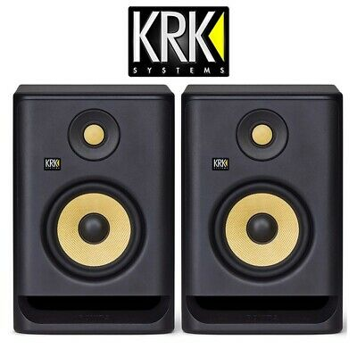 "KRK Rokit RP5 G4 Professional Active Powered 5"" DJ Studio Monitor Speaker (Pair) • 296£"