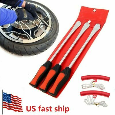 5Pack Tire Lever Tool Spoon Motorcycle Tire Change Kit Bicycle Dirt Bike Touring • 14.36$