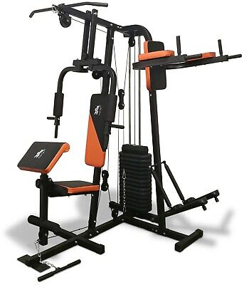 Fit4Home TF-7002, (68 KG) Multi Gym Workout Station Fitness Body Exercise • 499.99£