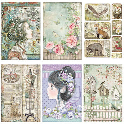 £2.99 • Buy Stamperia Collection B - Decoupage Rice Paper A4 Sheet - VARIOUS DESIGNS