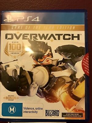 AU50 • Buy NEW Overwatch: Game Of The Year Edition - PS4