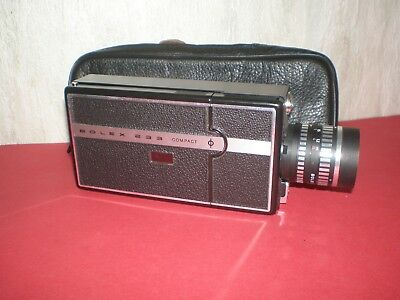 Old Swiss 8 Mm Movie Camera BOLEX 233 COMPACT - Does Not Work • 19.31£
