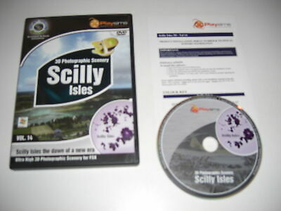 SCILLY ISLES Pc Photographic Scenery Add-On Microsoft Flight Simulator Sim X FSX • 21.99£