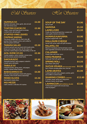 Profession Menu Designing Service,Restaurants,Takeaway,shops Bespoke Service  • 40.95£