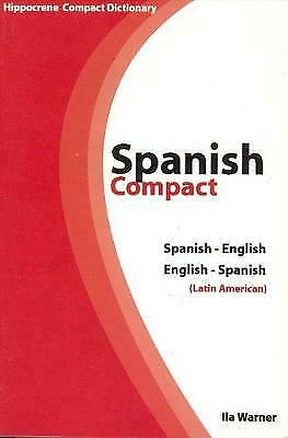 Spanish-English/English-Spanish Compact Dictionary (Hippocrene's Compact Diction • 10.66£