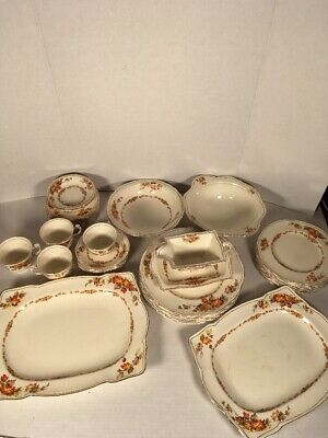 $ CDN250 • Buy Royal Winton Grimwades England Maple Leaf Set Of Plates Bowls Cups & Dishes 40pc