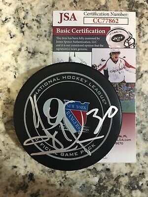 new york rangers puck
