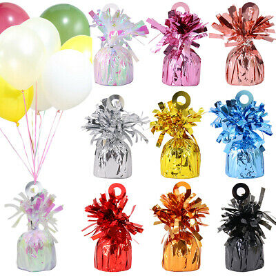 £9.29 • Buy 12x Balloon Weights Helium Foil Balloons Birthday Wedding Party Christening 170g