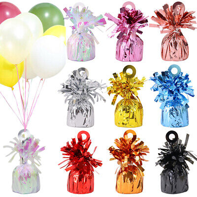£14.49 • Buy 24 Pack Heavy Balloon Weights Helium Foil Baby Birthday Wedding Party Decor 170g