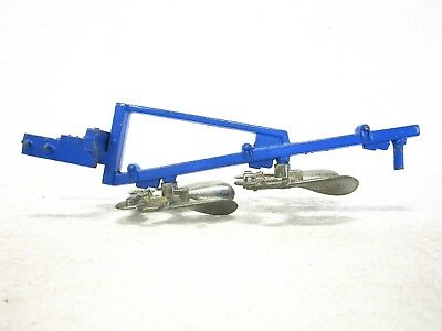 BRITAINS Diecast THREE FURROW REVERSIBLE PLOUGH METAL BLADES Unboxed As New • 3.53£