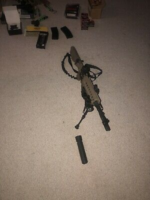$480 • Buy Airsoft Gun Electric M4 And Accessories