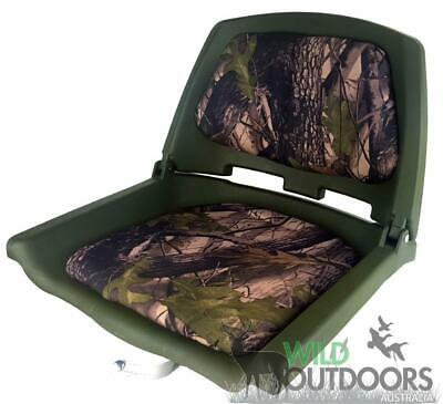 $ CDN74.73 • Buy Camo Boat Seat - Folding - Includes Metal Swivel - Very Sturdy